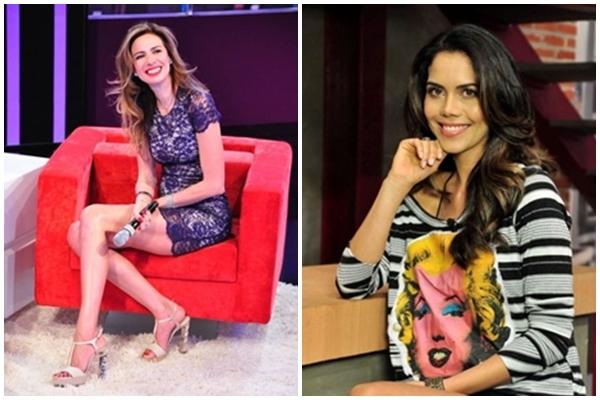 Luciana Gimenez apresenta o programa Super Pop e Daniela Albuquerque o reality show Dr.Hollywood (Wayne Camargo/Rede TV )