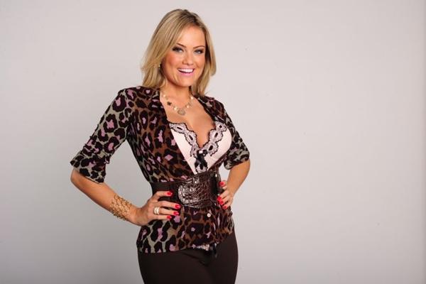 A atriz estava no ar como Mulher Mangaba, em Sangue Bom (Joao Miguel Jr/TV Globo)