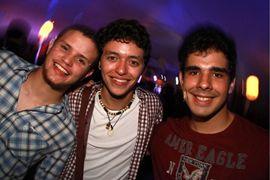 Jose Grossi, Andre Becker e Gabriel Valadares (Lula Lopes/Esp. CB/D.A Press)