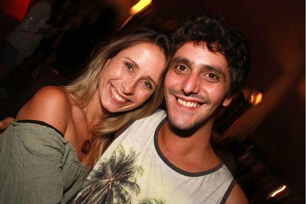 Ana Claudia Brandao e Felipe Manguin (Lula Lopes/Esp. CB/D.A Press)