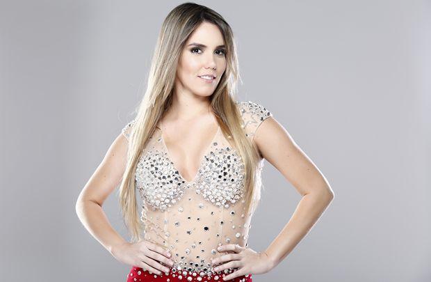 Katê é considerada a nova promessa da axé music (Bruno Ricci/Divulgação)