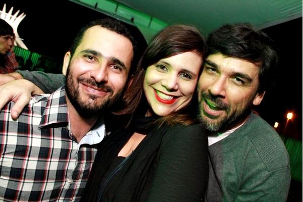 Marcus Moraes, Mariana Baeta e George Lacerda  (Lula Lopes/Esp. CB/D.A Press)