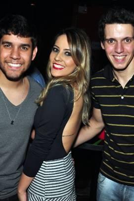 Guilherme Mattos, Janaína Cavalcante, Vitor Vicente (Paula Rafiza/Esp. CB/D.A Press)