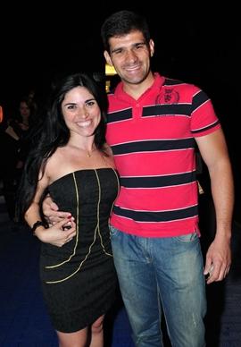 Keila Almeida e Patrick Teixeira (Paula Rafiza/Esp. CB/D.A Press)