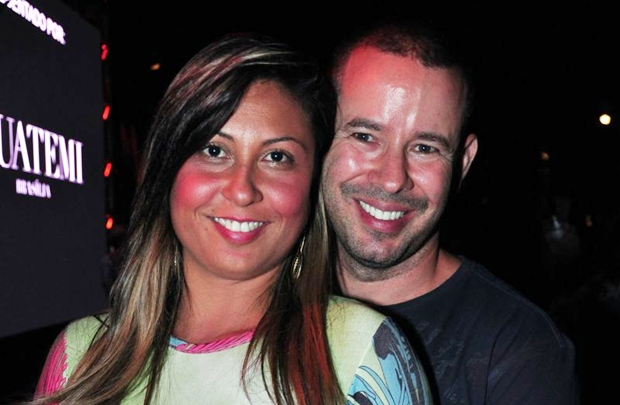 Elen Cristina Nunes e Paulo Victor Vigneron  (Paula Rafiza/Esp. CB/D.A Press)