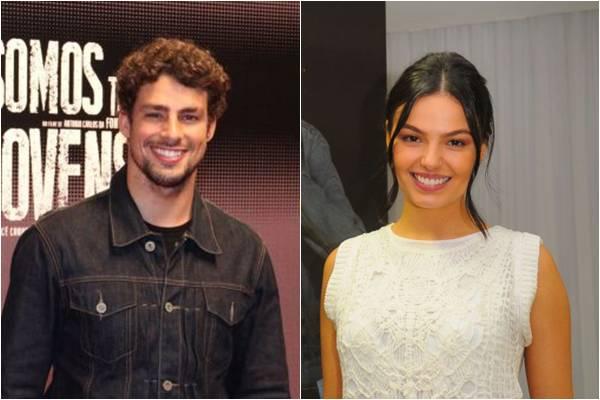 O casal se conheceu durante as filmagens da novela 'Amores Roubados' (Janine Moraes/CB/D.A Press, Gil Rodrigues/Esp. Aqui BH)