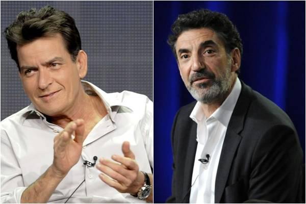 Chuck Lorre é um dos criadores da série 'Two and a half man', que tinha Charlie Sheen como ator principal (Gus Ruelas e Phil McCarten/ Reuters)