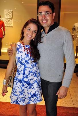 Flávia Brito e Hendy Miranda (Paula Rafiza/Esp. CB/D.A Press)