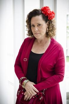 Elizabeth Savalla venceu a categoria Atriz Coadjuvante, no papel de Márcia a vendedora de cachorro-quente (Raphael Dias/TV Globo)