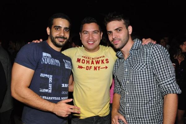 Eduardo Kinlie, Leonardo Ribeiro e Guilherme Carvalho (Paula Rafiza/Esp. CB/D.A Press)