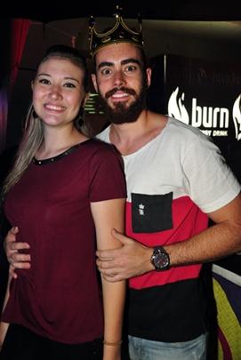 Raíssa Oliveira e Luciano Canadá (Paula Rafiza/Esp. CB/D.A Press)