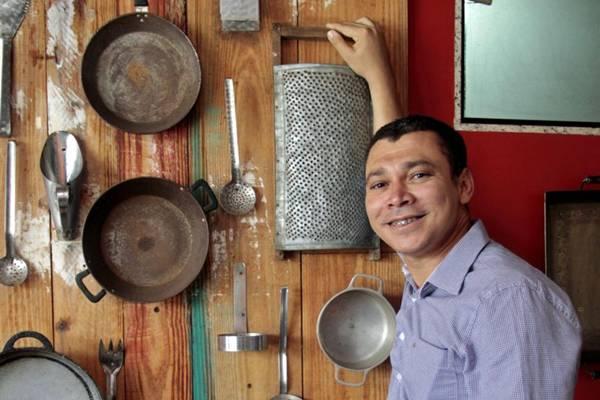 Gelson Leite aposta na comida brasileira em seu menu  (Ana Rayssa/Esp. CB/D.A Press)