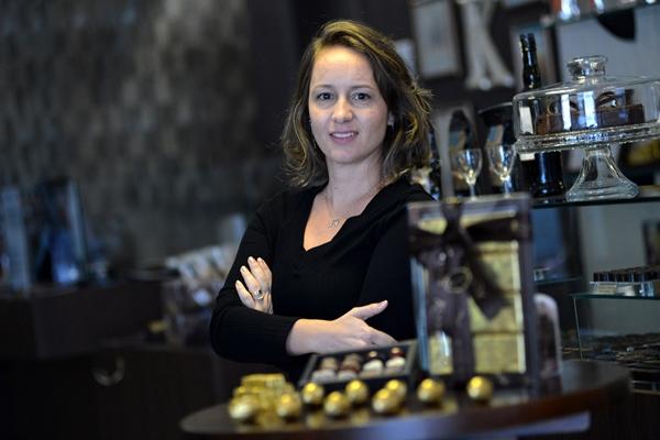 De avelã a cebola caramelada, Anna Kaebisch explora o potencial gastronômico do chocolate (Gustavo Moreno/CB/D.A Press)