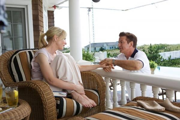 Jasmine (Cate Blanchett) e Hal (Alec Baldwin): comédia e drama unidos no melhor estilo de Woody Allen (Imagem Filmes/Divulgação)