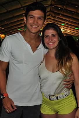 Daigoro Ito e Larissa Cavalcante (Paula Rafiza/Esp. CB/D.A Press)