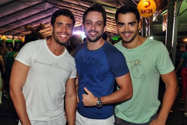 Alexandre Galvão, Marcelo Póvoa e Naldo Filho (Paula Rafiza/Esp. CB/D.A Press)