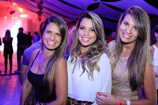 Ana Luiza Coelho, Pollyana Macel e Karol Costa (Rômulo Juracy/Divulgação)
