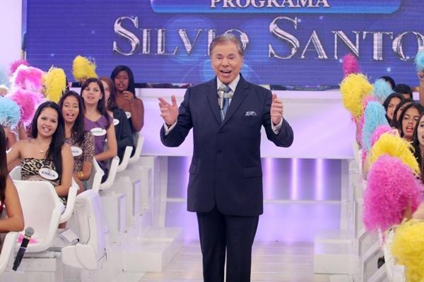 Sílvio Santos é o dono do SBT - Sistema Brasileiro de Televisão (Roberto Nemanis/SBT)