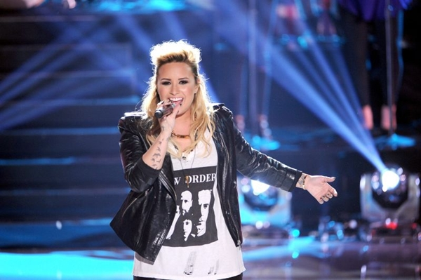 A cantora faz parte do corpo de jurados no programa The X Factor (Kevin Winter/Getty Images/AFP)