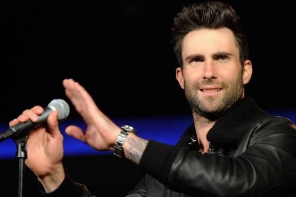 Atualmente Adam é jurado no programa The Voice USA (David Becker/Getty Images/AFP)