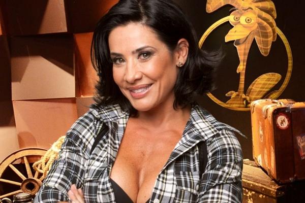 A apresentadora participou da última edição do Reality Show 'A Fazenda' (Edu Moraes/Record/Divulgação)