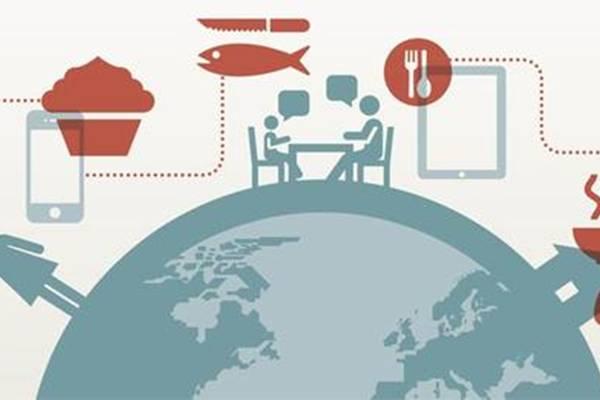 A redes Meal Sharing e o Eat With criaram uma rede de contatos mundial em busca de novas experiências gastronômicas e da oportunidade de conhecer pessoas (Ilustração)