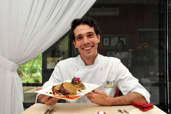 Filé ao molho de café: toque contemporâneo no menu do restaurante Babel (Marcelo Ferreira/CB/D.A Press)