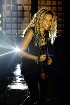 A pouco tempo a cantora deixou de ser MC Beyoncé e passou a se apresentar como MC Ludmilla (Marcos Hermes/Divulgação)
