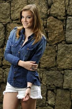 Alice Wegmann viverá Shirley na segunda fase de Em Família (Jorge Rodrigues Jorge/CZN)