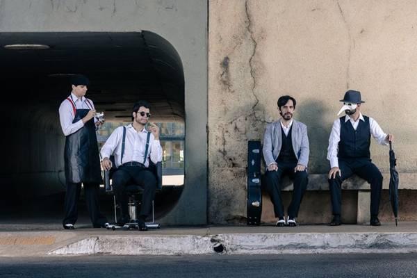 A banda se apresentará em um pocket show às 16h (Aferidor de Vuelos/Divulgação)