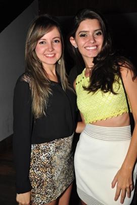 Larissa Sousa e Jakeliny Cunha (Paula Rafiza/Esp. CB/D.A Press)