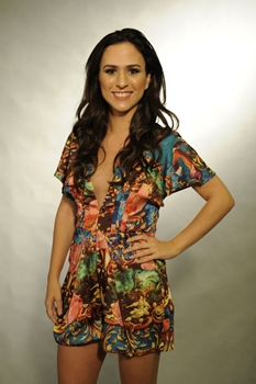 A atriz atuava como humorista na MTV  (Estevam Avellar/TV Globo)