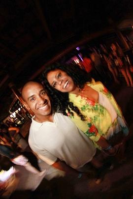 Roberto Amorim e Gabriela Loureiro (Lula Lopes/Esp. CB/D.A Press)