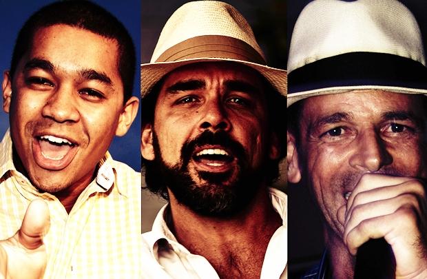 O trio participa da roda tocando clássicos de João Nogueira, Cartola e de Noel Rosa (Eder/Divulgação)