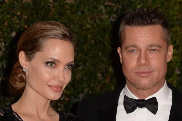 Angelina Jolie apresentou a obra de Lloyd Wright a Brad Pitt; casal está unido desde 2005 (Robyn Beck/AFP Photo)