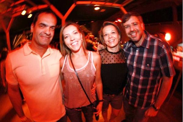 Osorio Coelho, Flavia Claudino, Ana Paula Siqueira e Paulo Siqueira (Lula Lopes/Esp. CB/D.A Press)