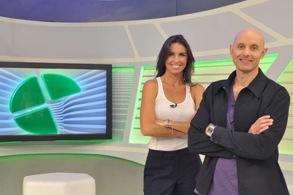 Glenda Kozlowski comanda o programa e Tande é responsável pelas reportagens especiais (João Cotta/TV Globo)