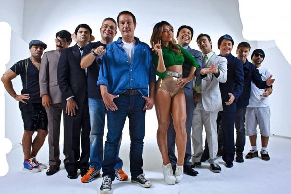 Equipe do Pânico na Band, programa exibido ao vivo nos domingos (Band/Divulgação)