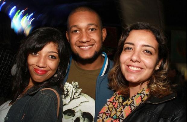 Ana Carla Borges, Jorge Henrique e Natalia Ribeiro (Lula Lopes/Esp. CB/D.A Press)