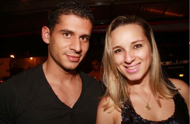 Leandro Borges e Jessica Veras (Lula Lopes/Esp. CB/D.A Press)