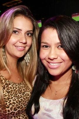 Aline Alves e Regiane Santos (Lula Lopes/Esp. CB/D.A Press)