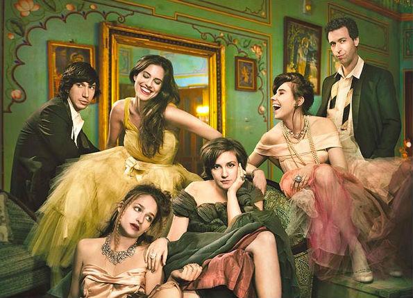 Poster de divulgação da terceira temporada da série Girls (HBO/Divulgação)