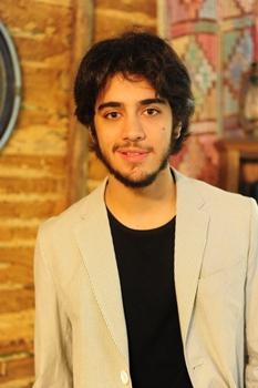 Ator interpretou o menino André, em Coração de Estudante (João Miguel Junior/TV Globo)