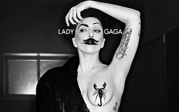 Nova parceria de Lady Gaga com Steven Klein foi divulgada pelo site oficial do fot�grafo (Steven Klein/Divulga��o)