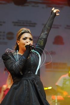 Em 2014 a atriz embarca na turnê internaciolnal da taça  (Janine Moraes/Esp. CB/D.A Press)