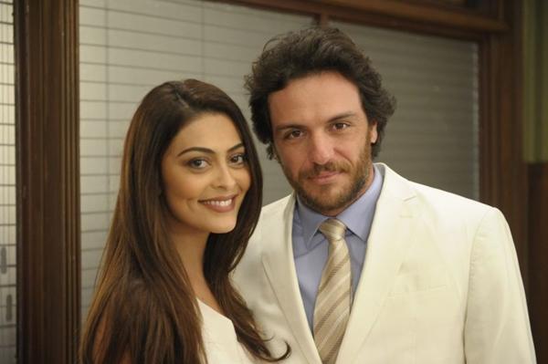 Após cinco anos os atores voltam a trabalhar juntos (Renato Rocha Miranda/ TV Globo )