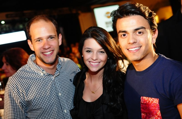 Caetano Amorim, Gabriela Bueno e André Medeiros (Bruno Peres/CB/D.A Press)