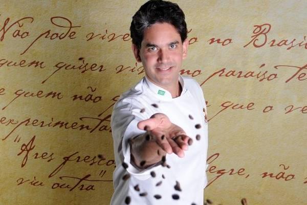 Rodrigo Cabral acredita que a proposta de 'trabalhar a cozinha brasileira com o toque contemporâneo' lhe rendeu o título (Minervino Júnior/CB/D.A Press)