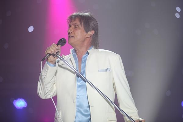 O cantor retornou à cidade após dez anos da última apresentação (Fred Pontes/Divulgação)