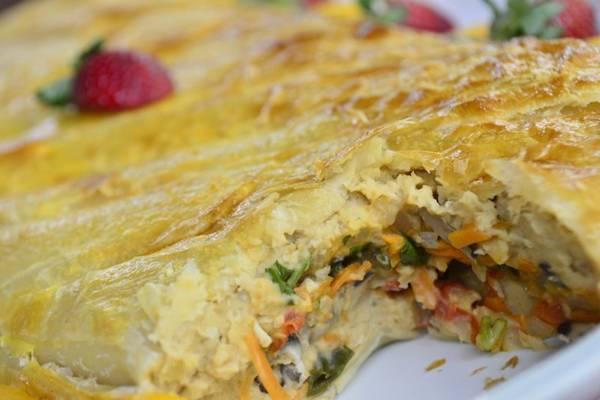 O prato substitui carne suína por grão de bico e mix de cogumelos (Daniel Ferreira/CB/D.A Press)
